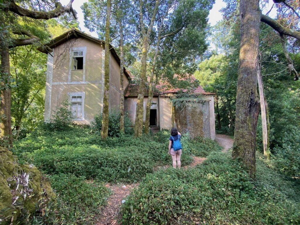 Casa abandonada Buçaco